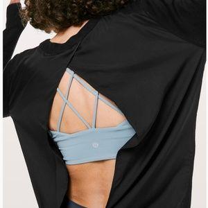 NWT Lululemon Still At Ease Pullover BLACK